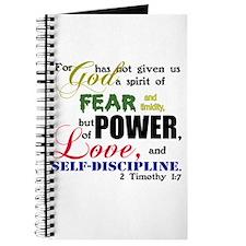 Power, Love, Self-discipline Journal