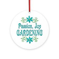 Gardening Joy Ornament (Round)