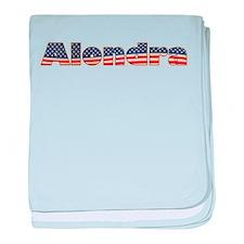 American Alondra baby blanket