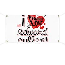 Edward Cullen Breaking Dawn Banner