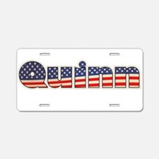 American Quinn Aluminum License Plate
