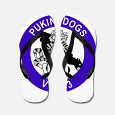 VF-143 Pukin' Dogs Flip Flops