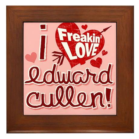 Edward Cullen Breaking Dawn Framed Tile