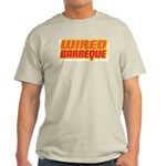 WiredBarbeque Ash Grey Tee Shirt