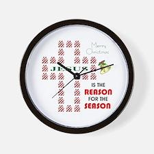 Reason For The Season Wall Clock