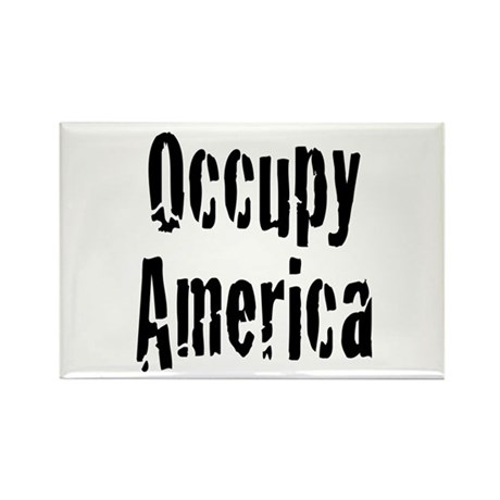 Occupy America Rectangle Magnet (100 pack)