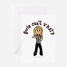 Light Referee Greeting Card