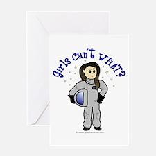 Light Astronaut Greeting Card