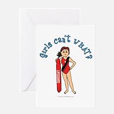 Light Lifeguard Greeting Card