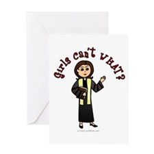 Light Preacher Greeting Card