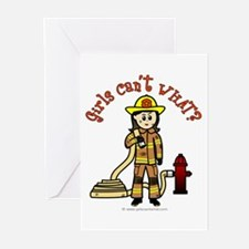 Personalized Firefighter Greeting Cards (Pk of 10)