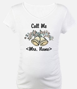 Custom Just Married (Mrs. Name) Shirt