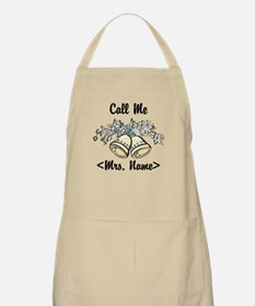 Custom Just Married (Mrs. Name) Apron