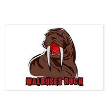 Walruses Rock Walrus Postcards (Package of 8)