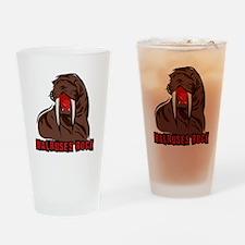 Walruses Rock Walrus Drinking Glass
