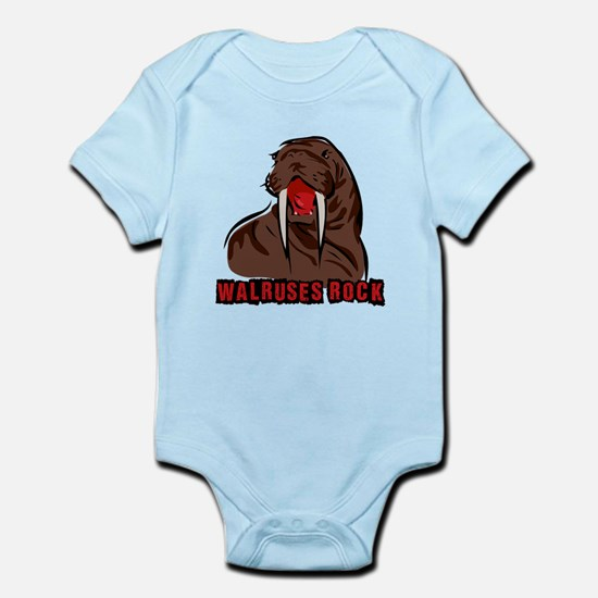 Walruses Rock Walrus Infant Bodysuit