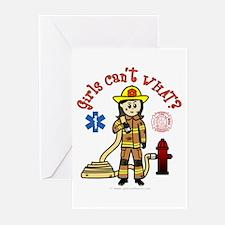 Custom Firefighter Greeting Cards (Pk of 10)