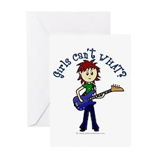 (Bettis) Custom Bass Guitar Greeting Card