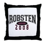 Robsten Throw Pillow