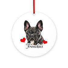 Frenchie! Ornament (Round)