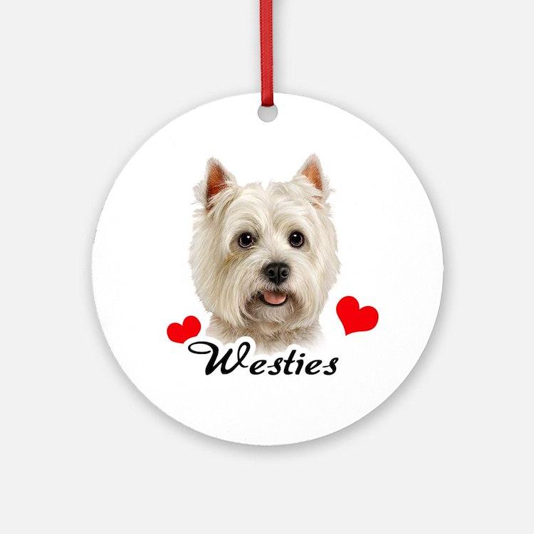 Westie! Ornament (Round)