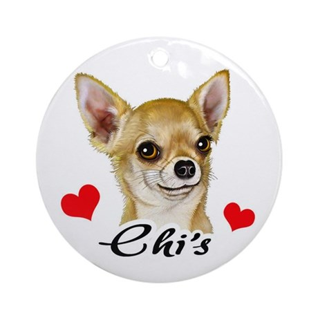 Chihuahua! Ornament (Round)