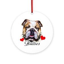 English Bulldog! Ornament (Round)