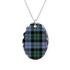 Tartan - Morrison Necklace Oval Charm