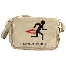 Eat Beans Messenger Bag