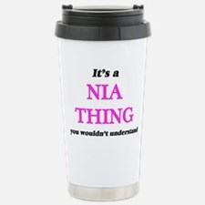 It's a Nia thing, y Stainless Steel Travel Mug