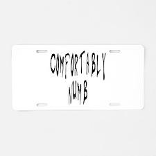 Pink Floyd Aluminum License Plate