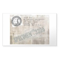 Specimen #3326 Decal