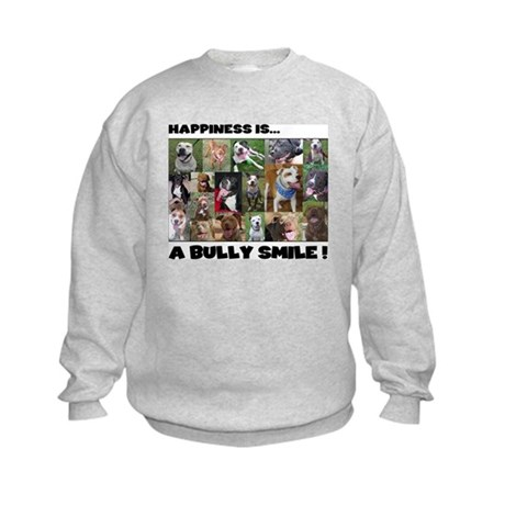 Bully Smiles! Kids Sweatshirt