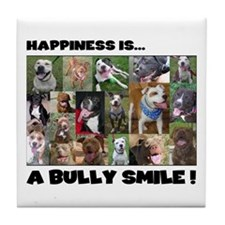 Bully Smiles! Tile Coaster