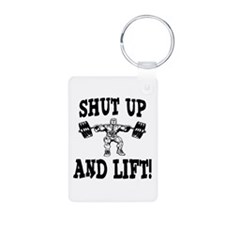 Shut Up And Lift Weightlifting Keychains