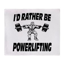 I'd Rather Be Powerlifting Weightlifting Stadium
