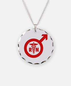 Murse Male Nurse Symbol Necklace