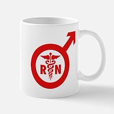 Murse Male Nurse Symbol Mug