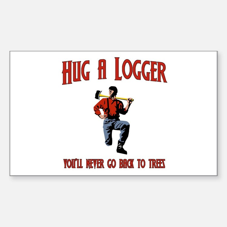 My Lover Was A Logger : Love my logger bumper stickers car decals more