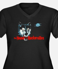 Hound of the Baskervilles Women's Plus Size V-Neck