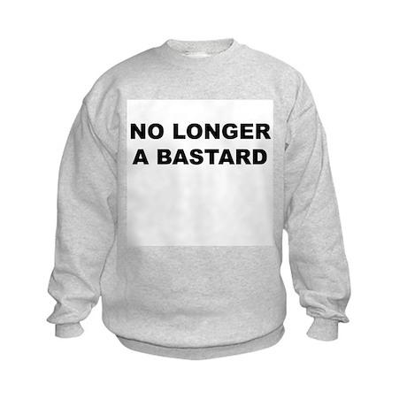 No Longer A Bastard Design Kids Sweatshirt