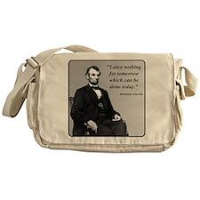 Lincoln Messenger Bag
