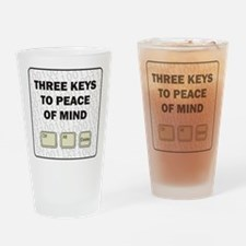 Peace Of Mind Drinking Glass