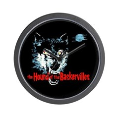 Hound of the Baskervilles Wall Clock