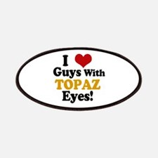 Guys With Topaz Eyes Patches