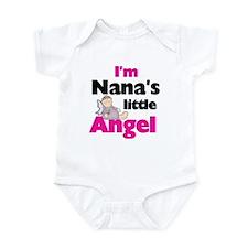 Nana's Little Angel Infant Creeper