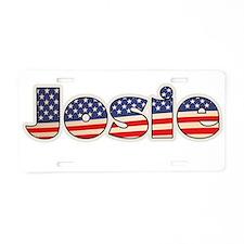 American Josie Aluminum License Plate