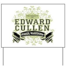 Property of Edward Cullen Yard Sign