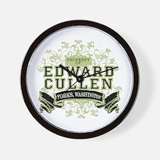 Property of Edward Cullen Wall Clock
