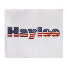 American Haylee Throw Blanket